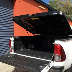 Hilux hard ute lid 45d. Black Textured
