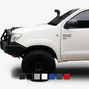 Hilux 09/2011-09/2015 Flares S30 Bull bar full set 040 White