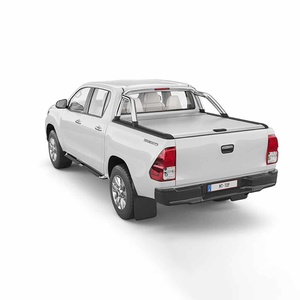 Hilux 10/2015-08/2018 Hard Lid Mountain Top Roll Cover SR5 Silver