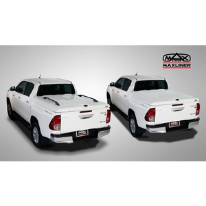 Hilux 09/2018 + hard ute lid 040 Super White
