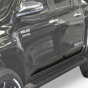 Hilux Door Clading Black Textured