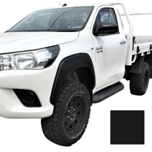 Hilux 10/2015-08/2018 flares M30N front Set Black Textured