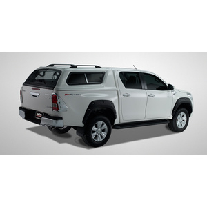 Hilux canopy Lift windows SR5 040 Super White