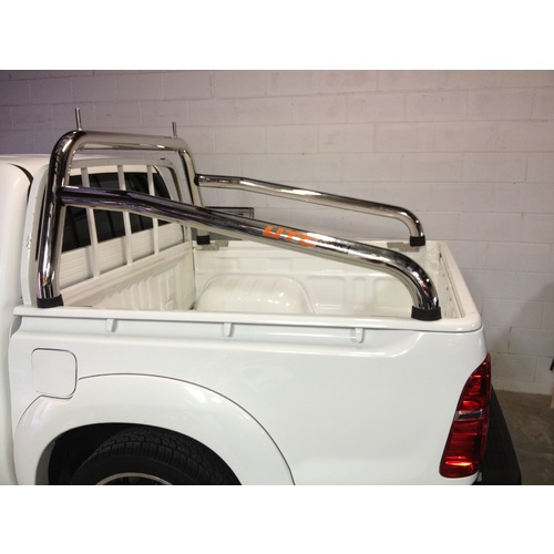 Hilux Ladder racks style sports bar long arm