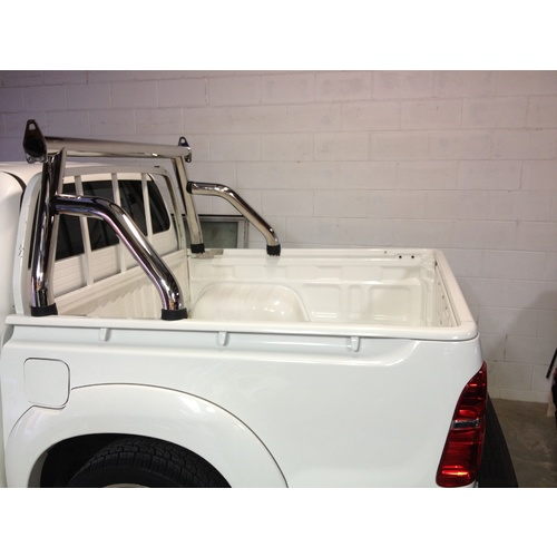 Hilux Ladder racks trade sports bar short arm
